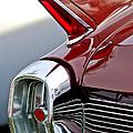 1962 Cadillac Eldorado Taillight by Jill Reger