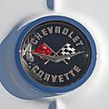 1962 Chevrolet Corvette Emblem 4 by Jill Reger