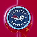 1962 Chevrolet Corvette Emblem by Jill Reger