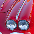 1962 Chevrolet Corvette Headlight by Jill Reger