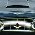 1963 Aston Martin Db4 Series V Vantage Gt Grille by Jill Reger
