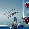 1963 Austin-healey Taillight by Jill Reger