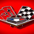 1963 Chevy Corvette Emblem by David Patterson