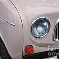 1963 Renault R4 - Headlight And Grill by Kaye Menner