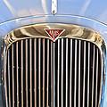 1964 Alvis Te21 Series IIi Drophead Coupe Grille Emblem by Jill Reger