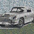 1964 Aston Martin Mosaic by Paul Van Scott