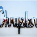 1964 Chrysler Emblem  by Saija  Lehtonen