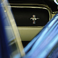 1964 Ford Mustang Emblem by Jill Reger