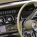 1964 Ford Thunderbird Steering Wheel by Jill Reger