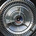 1964 Ford Thunderbird Wheel Rim by Jill Reger