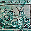 1964 New York World's Fair Stamp by Bill Owen
