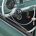 1964 Volkswagen Vw Steering Wheel 2 by Jill Reger