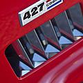 1965 Ac Cobra Emblem 2 by Jill Reger