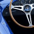 1965 Cobra Sc Steering Wheel 2 by Jill Reger