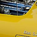 1965 Lotus Elan S2 Engine by Jill Reger