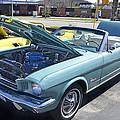 1965 Mustang Convertible by Paul Mashburn