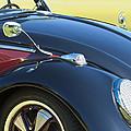 1966 Volkswagen Vw Convertible Bug by Jill Reger