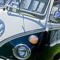 1966 Volkswagen Vw Microbus by Jill Reger