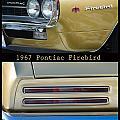 1967 Bronze Pontiac Firebird  Poster S by James BO  Insogna