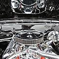 1967 Chevrolet Chevelle Ss Engine 2 by Glenn Gordon