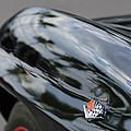 1967 Chevrolet Corvette Fender Emblem by Jill Reger