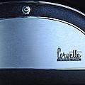 1967 Chevrolet Corvette Glove Box Emblem by Jill Reger