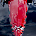 1967 Chevrolet Corvette Hood Emblem 5 by Jill Reger