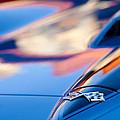 1967 Chevrolet Corvette Hood Emblem by Jill Reger