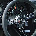 1967 Chevrolet Corvette Steering Wheel by Jill Reger