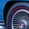 1967 Chevrolet Corvette Wheel 2 by Jill Reger