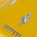 1967 Ferrari 275 Gtb4 Emblem 3 by Jill Reger