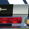 1967 Shelby Gt500 Fastback Taillight Emblem by Jill Reger