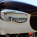 1967 Triumph Bonneville Gas Tank 1 by Paul Ward