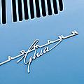 1967 Volkswagen Vw Karmann Ghia Emblem 4 by Jill Reger
