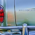 1967 Volkswagen Vw Karmann Ghia Taillight Emblem by Jill Reger