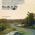 1968 Chevrolet Chevelle Ss 396 - It'd Be A Big Mover On Looks Alone. by Digital Repro Depot