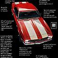 1968 Chevrolet Z/28 Camaro  by Digital Repro Depot