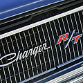 1968 Dodge Charger Rt Coupe 426 Hemi Upgrade Grille Emblem by Jill Reger