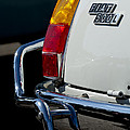 1969 Fiat 500 Taillight Emblem by Jill Reger