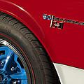 1969 Sc Rambler Wheel Emblem by Jill Reger