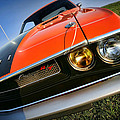 1970 Dodge Challenger Rt Hemi Orange by Gordon Dean II