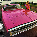 1970 Dodge Charger Tickled Pink by Digital Repro Depot