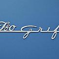 1970 Iso Rivolta Grifo Emblem 3 by Jill Reger