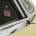 1970 Jaguar Xk Type-e Emblem by Jill Reger
