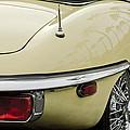 1970 Jaguar Xk Type-e Taillight 2 by Jill Reger