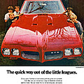 1970 Pontiac Gto - The Quick Way Out Of The Little Leagues. by Digital Repro Depot