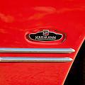1970 Volkswagen Vw Karmann Ghia Emblem by Jill Reger
