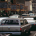 1970s America. 42nd Street Between 7th by Everett