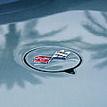 1971 Chevrolet Corvette Gas Cap Emblem by Jill Reger