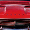 1971 Dodge Challenger - Red Mopar Typography by Gordon Dean II